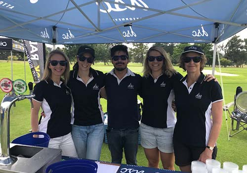 dsc golf day gazebo helpers