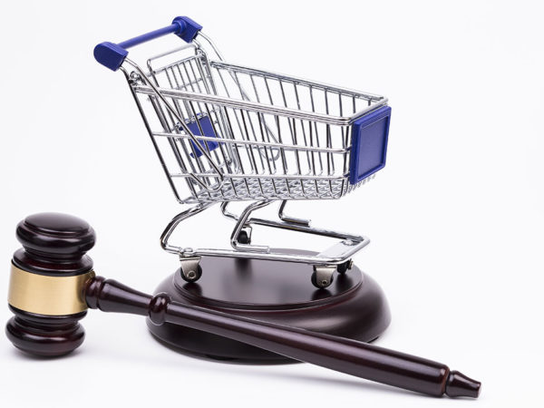 Shopping centre accident law