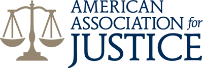 American Association for Justice logo