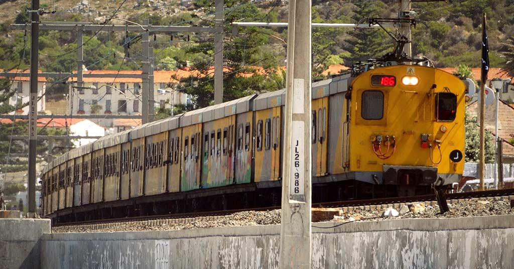 prasa metrorail train lack security south africa