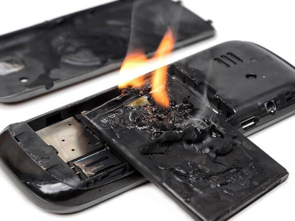 exploding phone battery liability