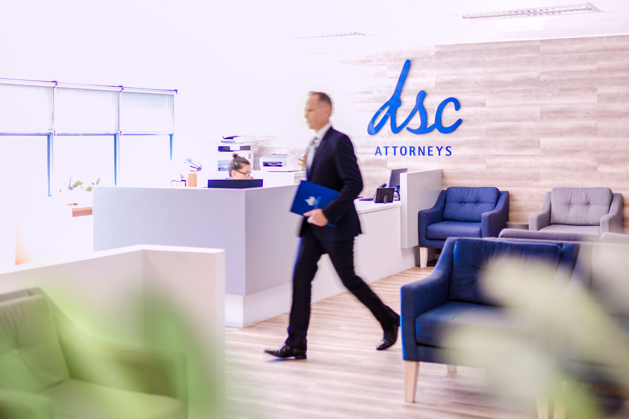 DSC Personal Injury Law Firm Reception